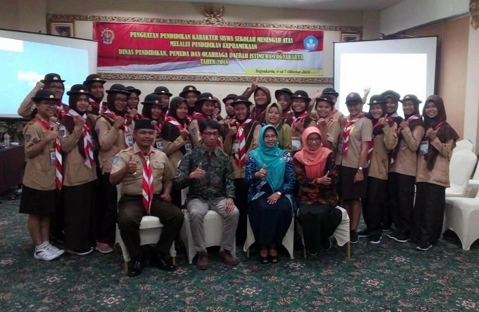 Bentuk Partisipasi MBS Muhiba Yogyakarta pada Pendidikan Kepanduan Kwarda DIY