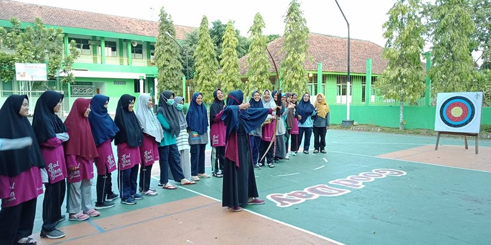 panahan salah satu kegiatan rutin santri putri mbs muhiba yogyakarta