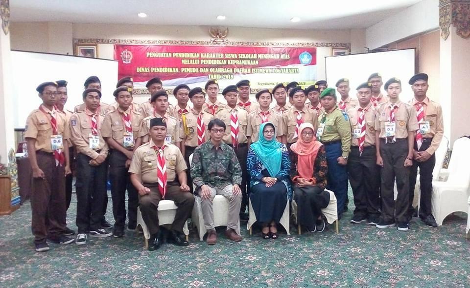Partisipasi MBS Muhiba Yogyakarta pada Pendidikan Kepanduan Kwarda DIY