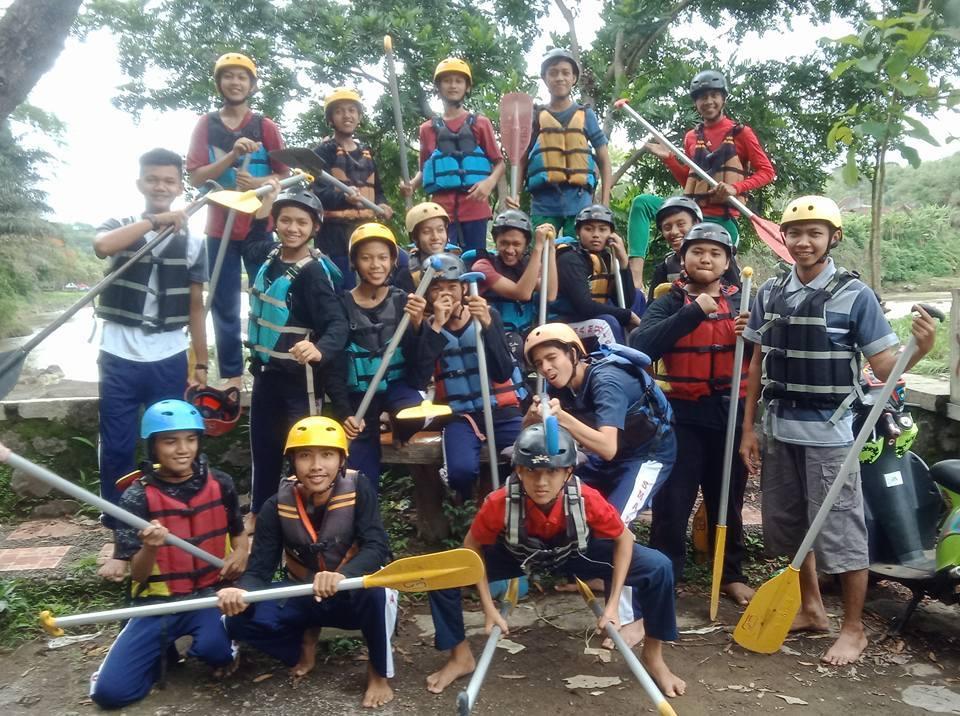 rafting santri muhammadiyah boarding school mbs muhiba yogyakarta