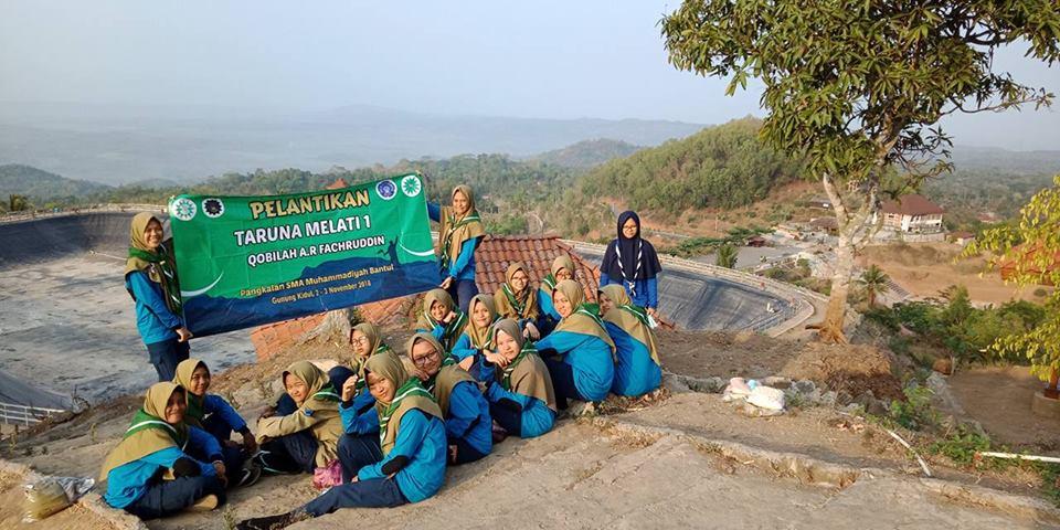 Ujian Kenaikan Tingkat HISBUL WATHAN TARUNA MELATI MBS Muhiba Yogyakarta